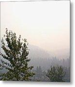 Smokey Landscape Metal Print