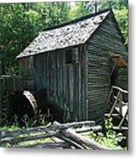 Smoky Mountain Grist Mill Metal Print