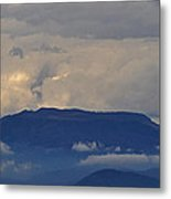 Smokey Tippy Top Morning Metal Print