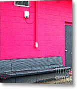 Smokin' Out The Back Door Metal Print