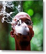 Smokin Puffs Metal Print