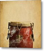 Smoking Congas Metal Print