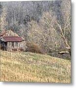 Smoky Mountain Barn 4 Metal Print
