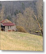 Smoky Mountain Barn 9 Metal Print
