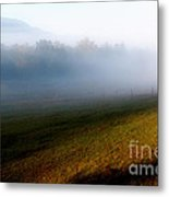 Smoky Mountain Blush Metal Print