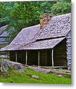 Smoky Mountain Cabins Metal Print