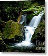 Smoky Mountain Falls Metal Print