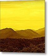 Smoky Mountain Glow Metal Print
