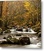 Smoky Mountain Gold II Metal Print