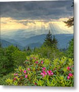 Mountain Grandeur Metal Print