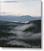 Smoky Mountain Mist Metal Print