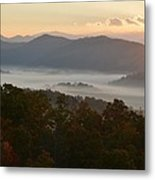 Smoky Mountain Morning Metal Print