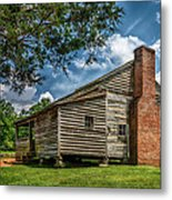 Smoky Mountain Pioneer Cabin E126 Metal Print