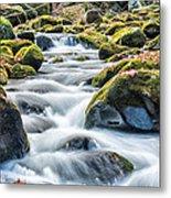 Smoky Mountain Rapids Metal Print by Victor Culpepper