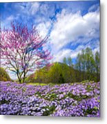 Smoky Mountain Spring Metal Print