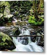 Smoky Mountain Stream 4 Metal Print