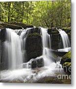 Smoky Mountain Waterfall - D008427 Metal Print