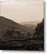 Smoky Mountains Lookout Point Metal Print
