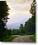Smoky Mountains Scene Metal Print