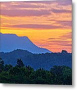 Smoky Mountains Sunrise Metal Print