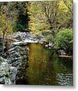 Smoky Mountian River Metal Print by Sandy Keeton