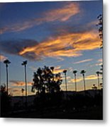 Smoky Sky The Morning After Fire Metal Print