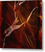 Smoldering Desire Metal Print
