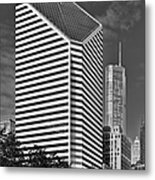 Smurfit-stone Chicago - Now Crain Communications Building Metal Print