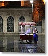 Snack Seller Cankurtaran Istanbul Metal Print