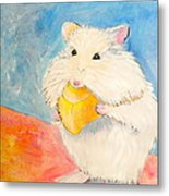 Snack Time Metal Print by Debi Starr