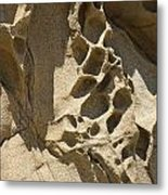 Snadstone Rock Formations In Big Sur Metal Print