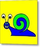 Snail-E-Mail Metal Print