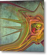 Snail In The 30th Century Metal Print