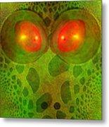 Snake Eyes Metal Print