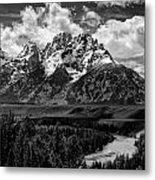 Snake River Overlook Metal Print