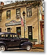 Snappers Saloon Ripley Ohio Metal Print