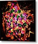 #snapseed #christmas #star #decoration Metal Print