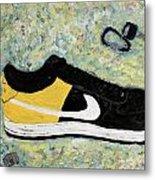 Sneaker And Sportcars Metal Print by Mark Stiles