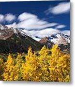 Sneffels Winds Metal Print by Darren  White