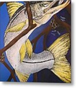 Snook Painting Metal Print by Lisa Bentley