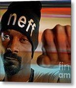 Snoop Lion Metal Print