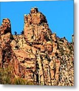 Snoopy Rock - Sabino Canyon Tucson Arizona  Metal Print