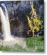 Snoqualime Falls And Pool Metal Print