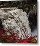 Snoqualmie Falls At Flood Stage Metal Print