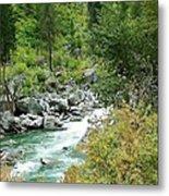 Snoqualmie River Metal Print