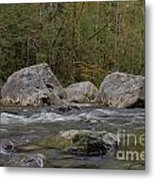 Snoqualmie River Metal Print
