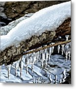Snow And Icicles No. 1 Metal Print