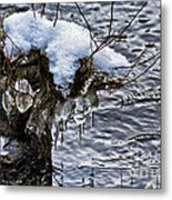 Snow And Icicles No. 2 Metal Print