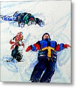 Snow Angels Metal Print