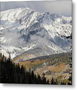 Snow Capped Beauty Metal Print